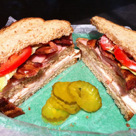 THURSDAY: ULTIMATE CLUB SANDWICH & 2 Sides